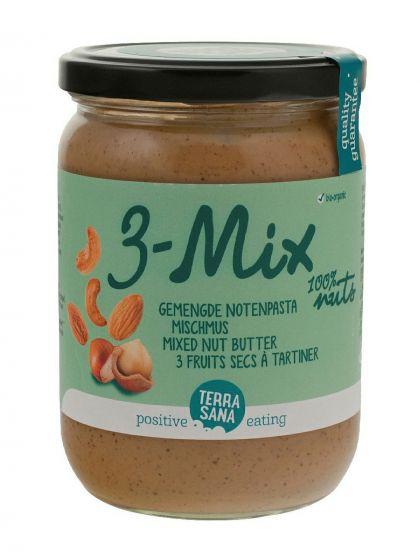 3-mix gemengde notenpasta 500gr TS