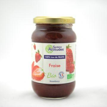 Aardbeien confituur 310gr SA