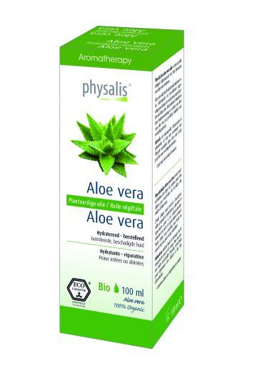 Aloe vera plant. olie Physalis