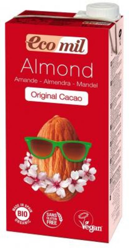 Amandeldrink + cacao 1L Ecomil