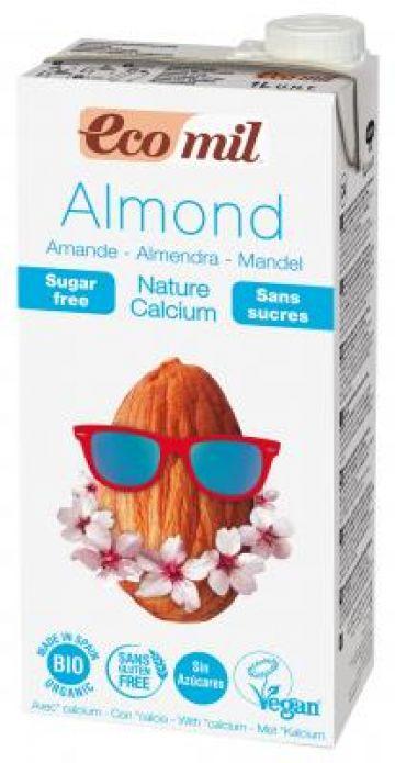 Amandeldrink + calcium ongezoet 1L Ecomil