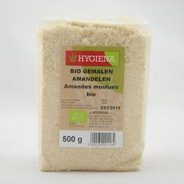 Amandelen gemalen 500gr Hygiena