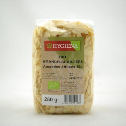 Amandelschilfers 250gr Hygiena
