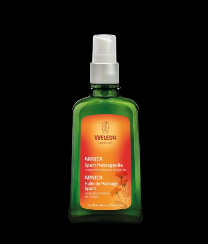 Arnica massage-olie 100ml Weleda
