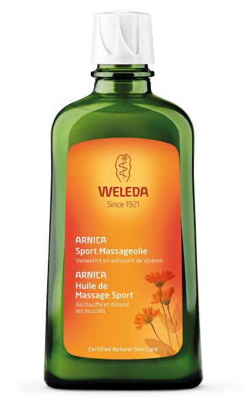 Arnica massage-olie 200ml Weleda