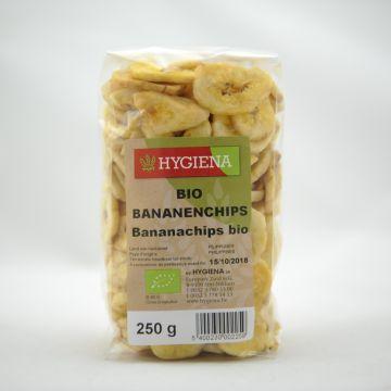 Bananenchips 250gr Hygiena