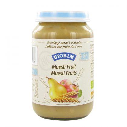 Biobim muesli-fruit 200gr JM
