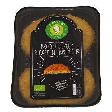 Broccoli burger 2x90gr Pad.