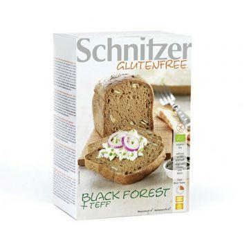 Broodjes zwarte woud + teff. 2x250gr Schn.
