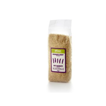 Bruine basmati rijst 1kg 2BIO