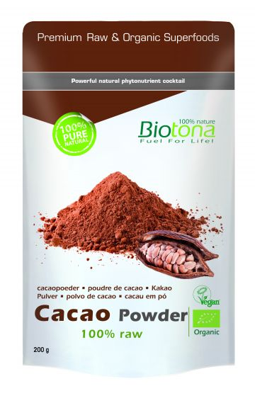 Cacao raw powder 200gr Biotona