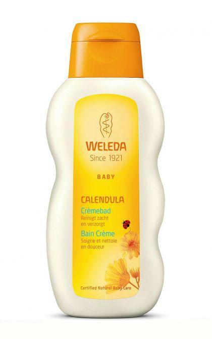 Calendula baby crème-bad 200ml Weleda