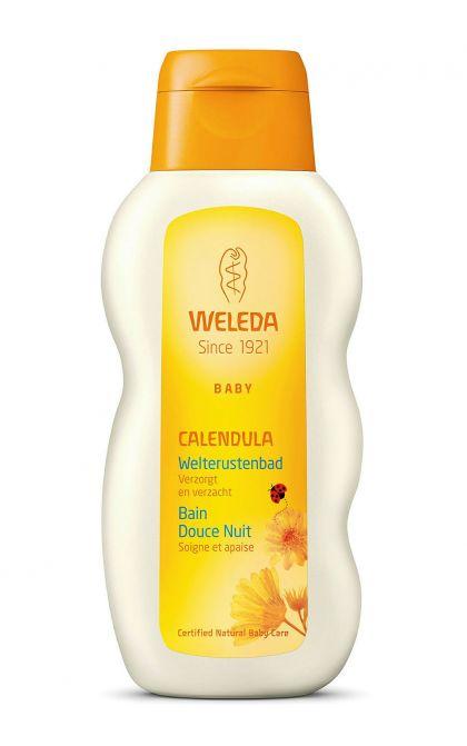 Calendula baby welterusten-bad 200ml Weleda