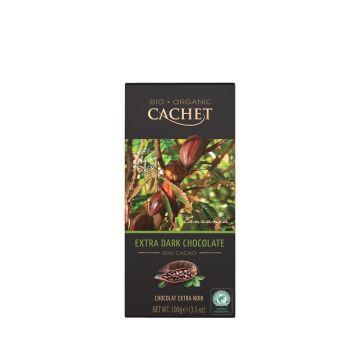 Chocolade puur 85% Tanzania 100gr Cachet