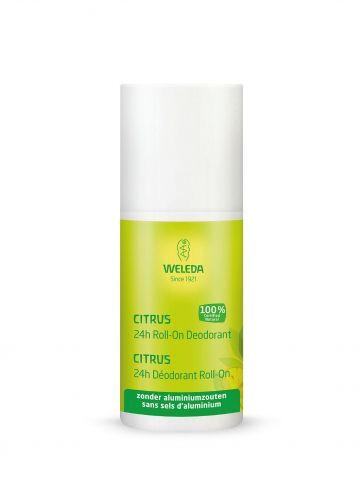 Citrus 24h roll-on deodorant 50ml Weleda