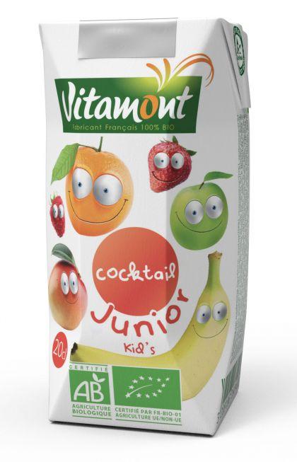 Cocktail junior 20cl Vitamont