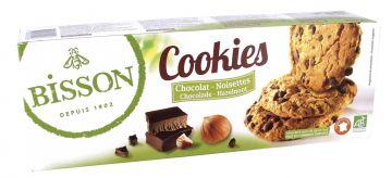 Cookies chocolade-hazeln. 200gr Bis.