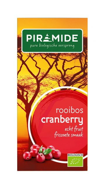 Cranberry rooibos Piramide