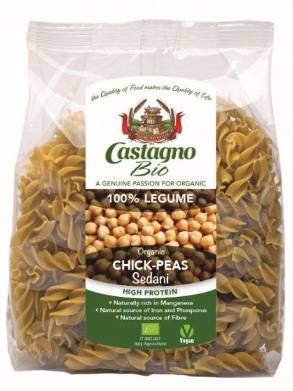 Fusilli 100% kikkererwten pasta 250gr CAS