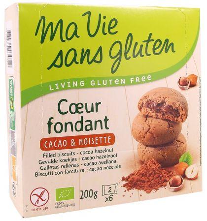 Gevulde koek cacao-hazeln. 200gr MVSG