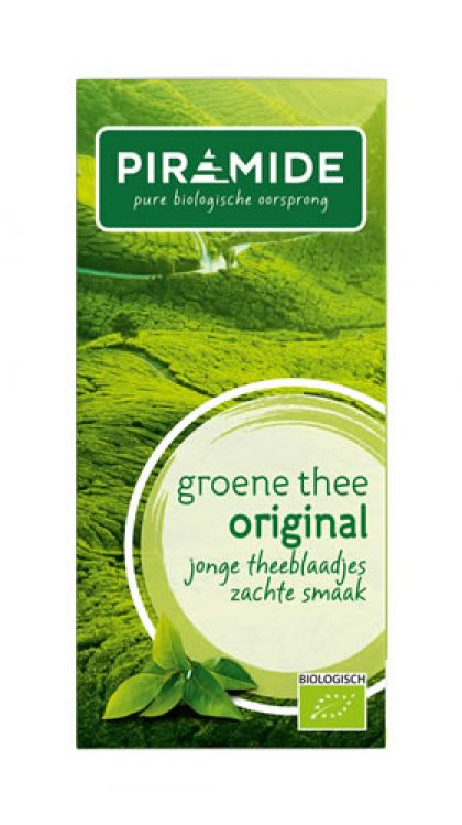 Groene thee Piramide