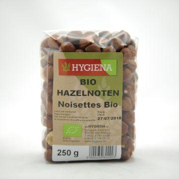 Hazelnoten 250gr Hygiena