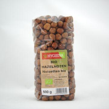 Hazelnoten 500gr Hygiena