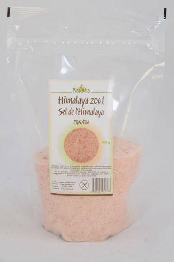 Himalaya zout fijn 500gr Natuvita