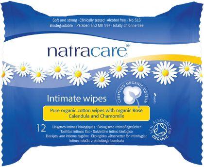 Hygienische doekjes 12st Natracare