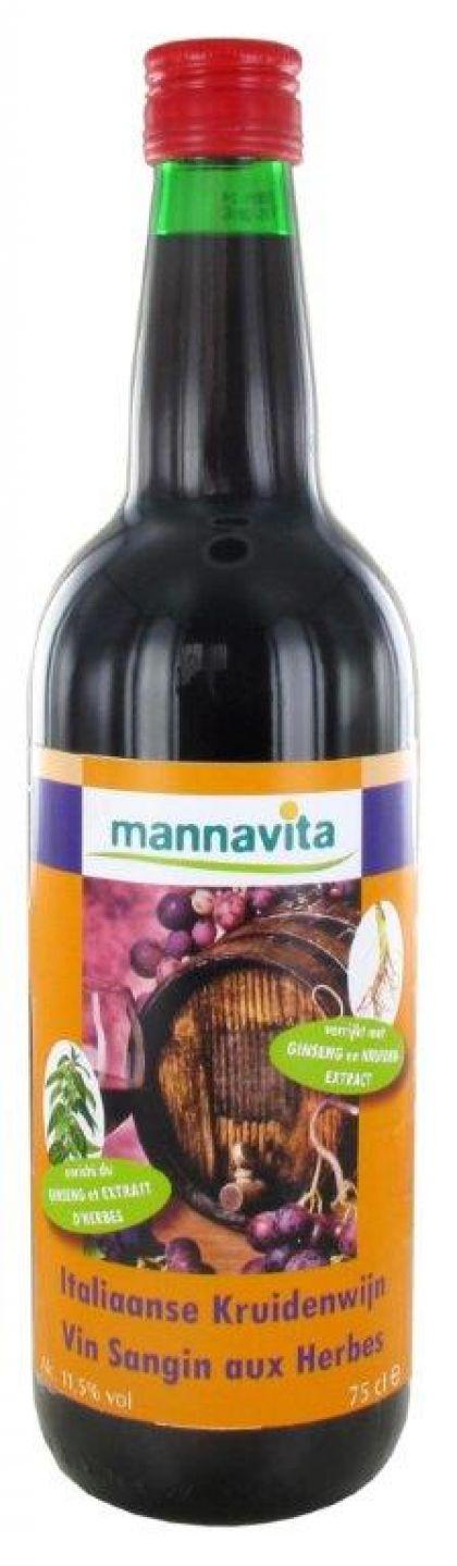 Italiaanse kruidenwijn 75cl Mannavita