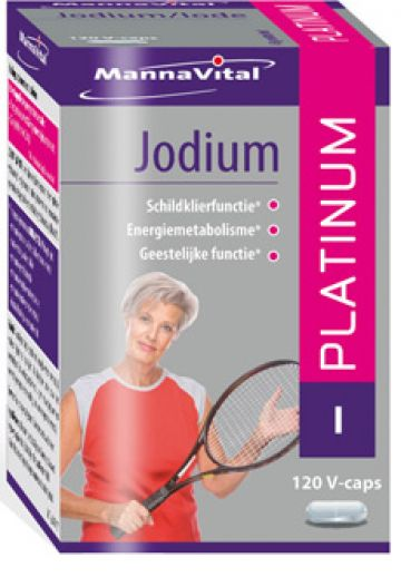 Jodium Platinum 120 v-caps Mann.