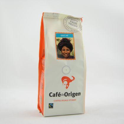 Koffie décafiné gemalen 250gr Natura