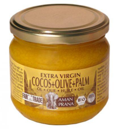 Kokos + olijf + rode palm 325ml Amanprana