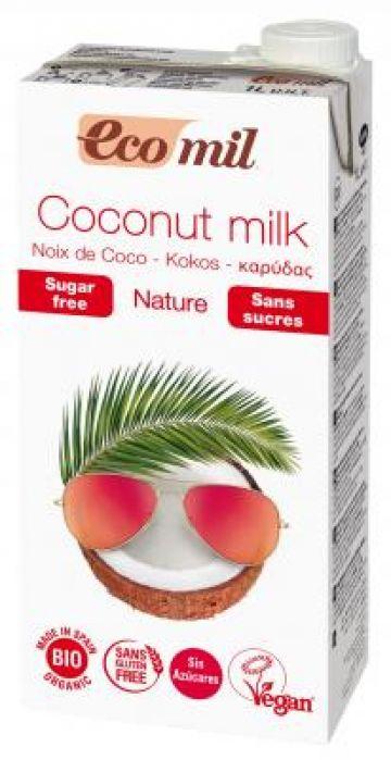 Kokosnootmelk ongezoet 1L Ecomil