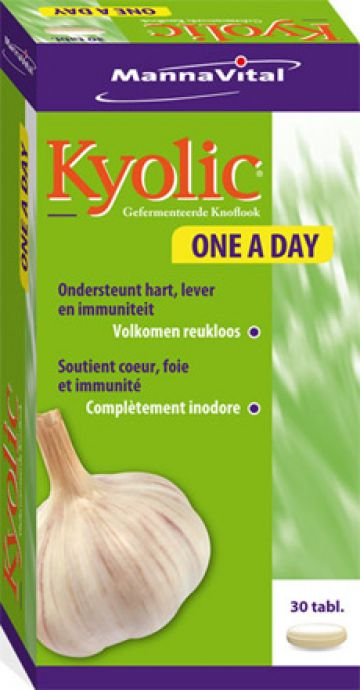 Kyolic One a Day 30 tabl Mann.