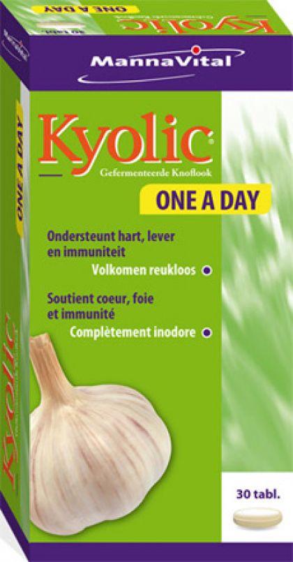 Kyolic One a Day 30 tabl Mann.