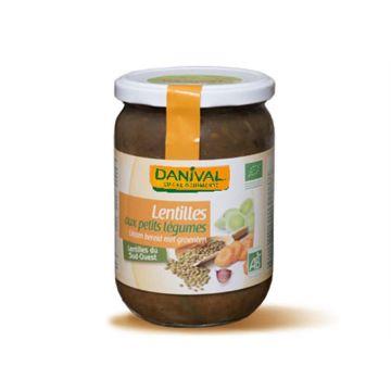 Linzen met groenten 525gr Danival