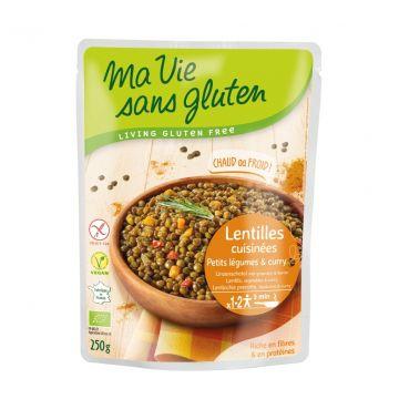 Linzenschotel groenten/curry 250gr MVSG