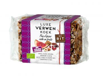 Luxe fruit notenkoek 250gr De Rit