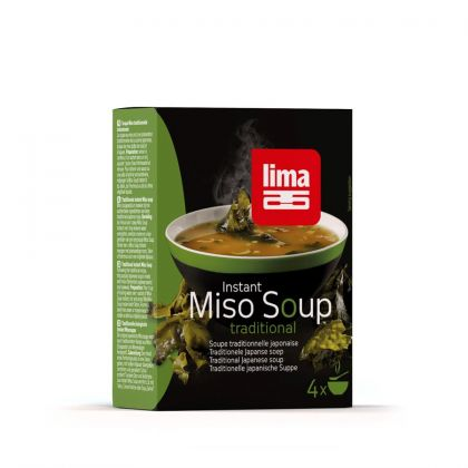Miso soup instant trad. 40gr Lima