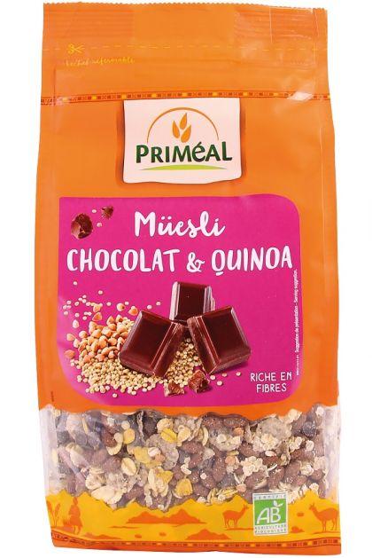 Muesli chocolade-quinoa 350gr Priméal