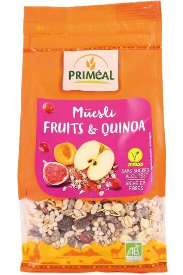 Muesli fruit-quinoa 350gr Priméal