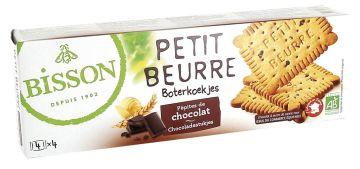 Petit beurre chocoladestukjes 150gr Bis.