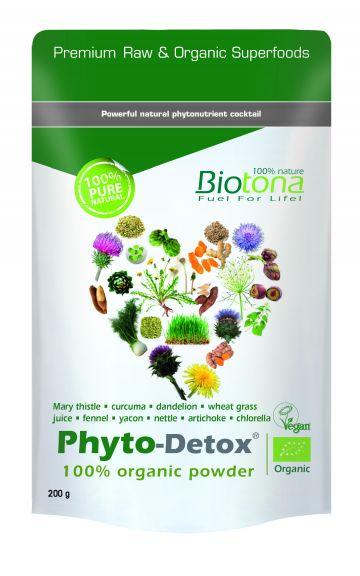 Phyto-detox organix powder 200gr Biotona