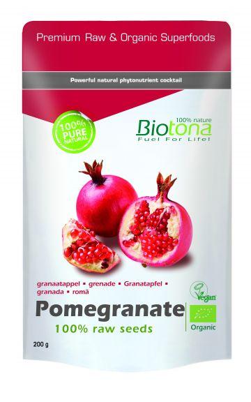 Pomegranate seeds 200gr Biotona