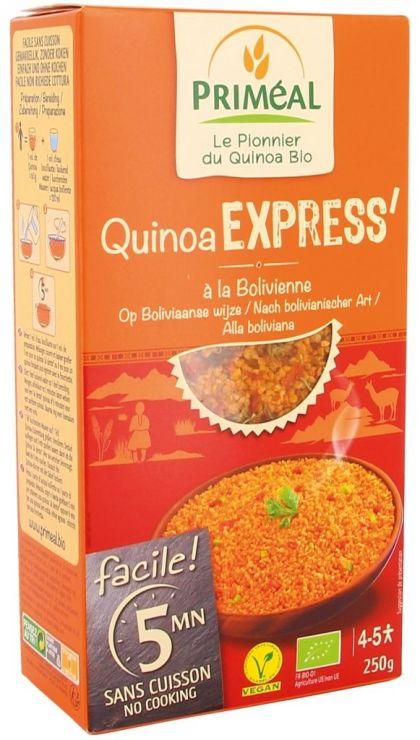 Quinoa expres boliviaans 250gr Primeal