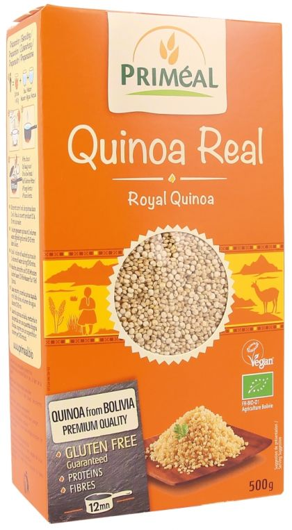 Quinoa Real wit 500gr Priméal