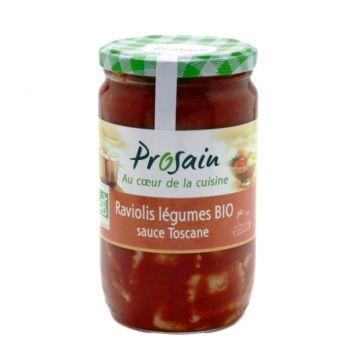 Ravioli groenten + toscaanse sauzen 680gr PS