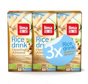 Rice-drink hazeln.-amand. 3x200ml Lima