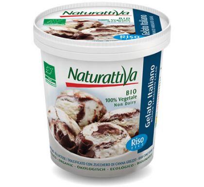 Rijstijs vanille/chocolade 750ml NT